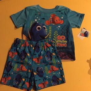 Children's finding Nemo pajama set